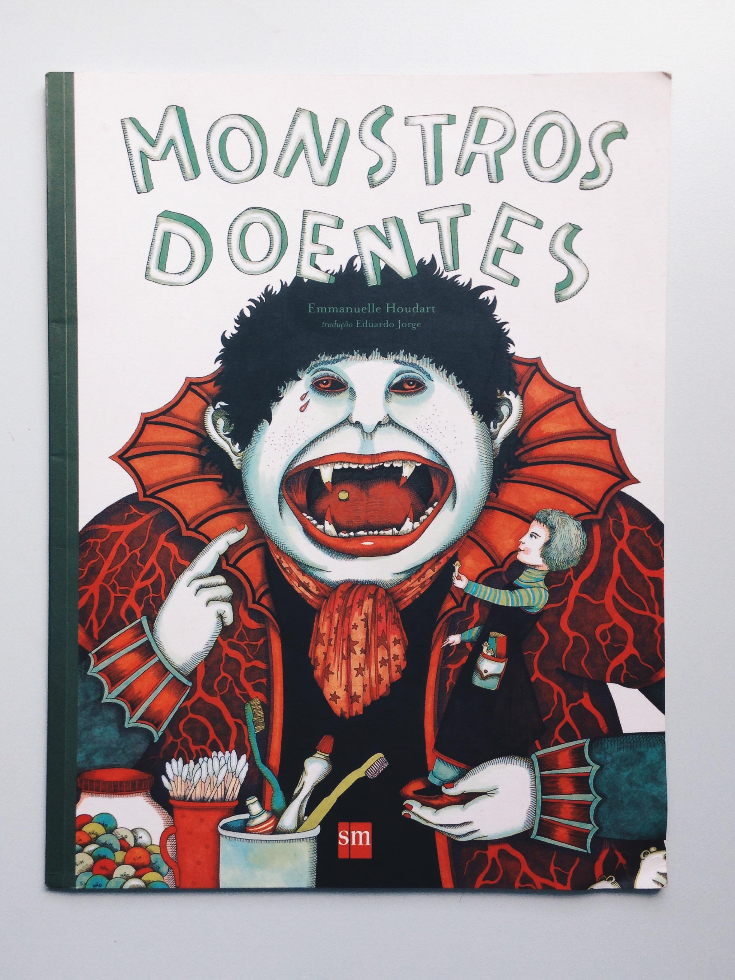 """Monstros Doentes"", de Emanuelle Houdart"